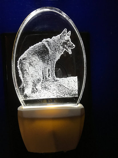 German Shepherd night light
