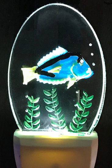 Blue Tang fish night light