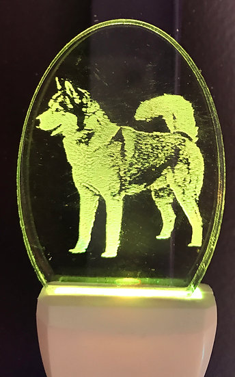 Siberian Husky body Night Light
