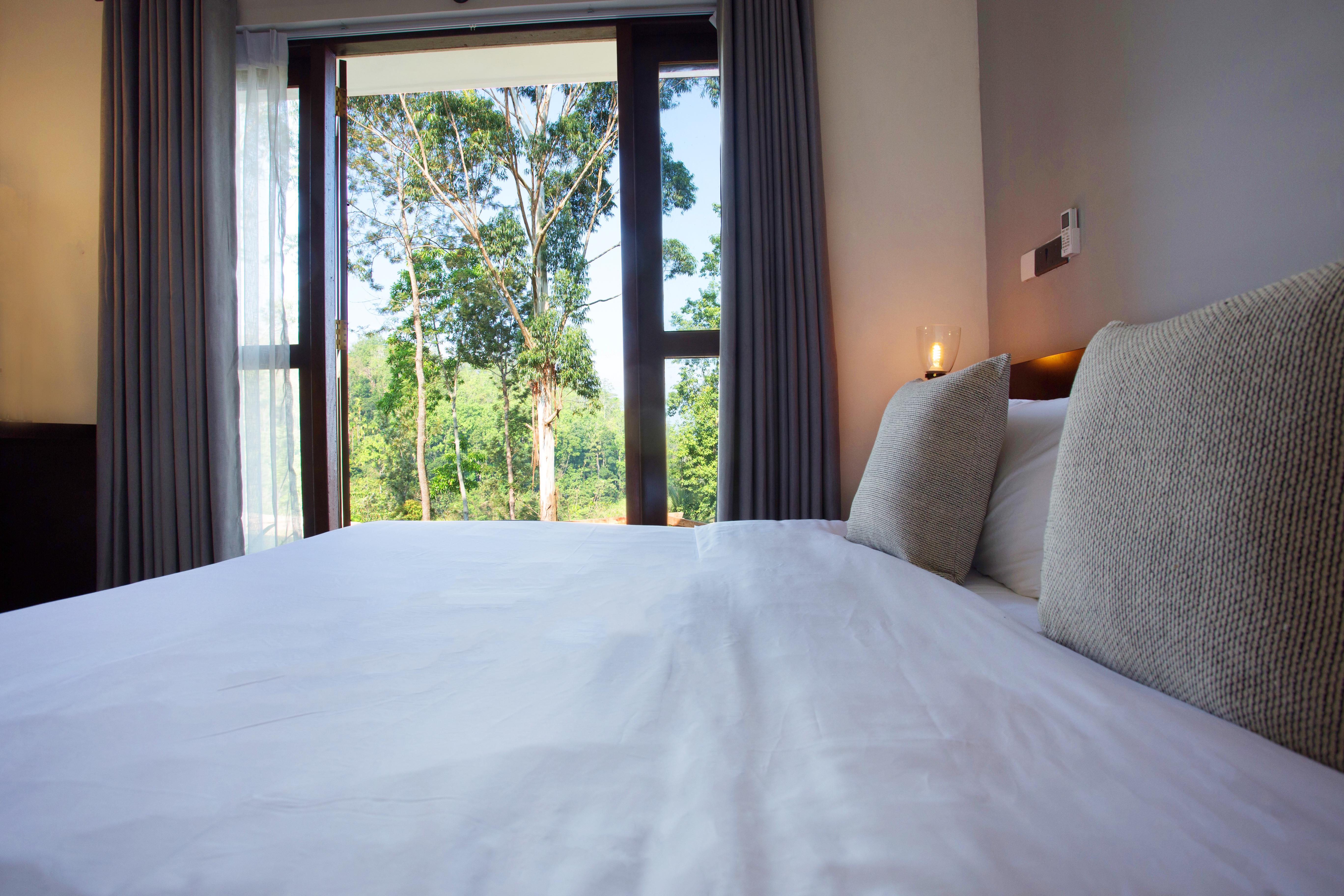 Rooms with garden balconies