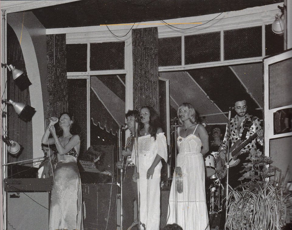 1973 con Mia Martini tour Expo 80 &
