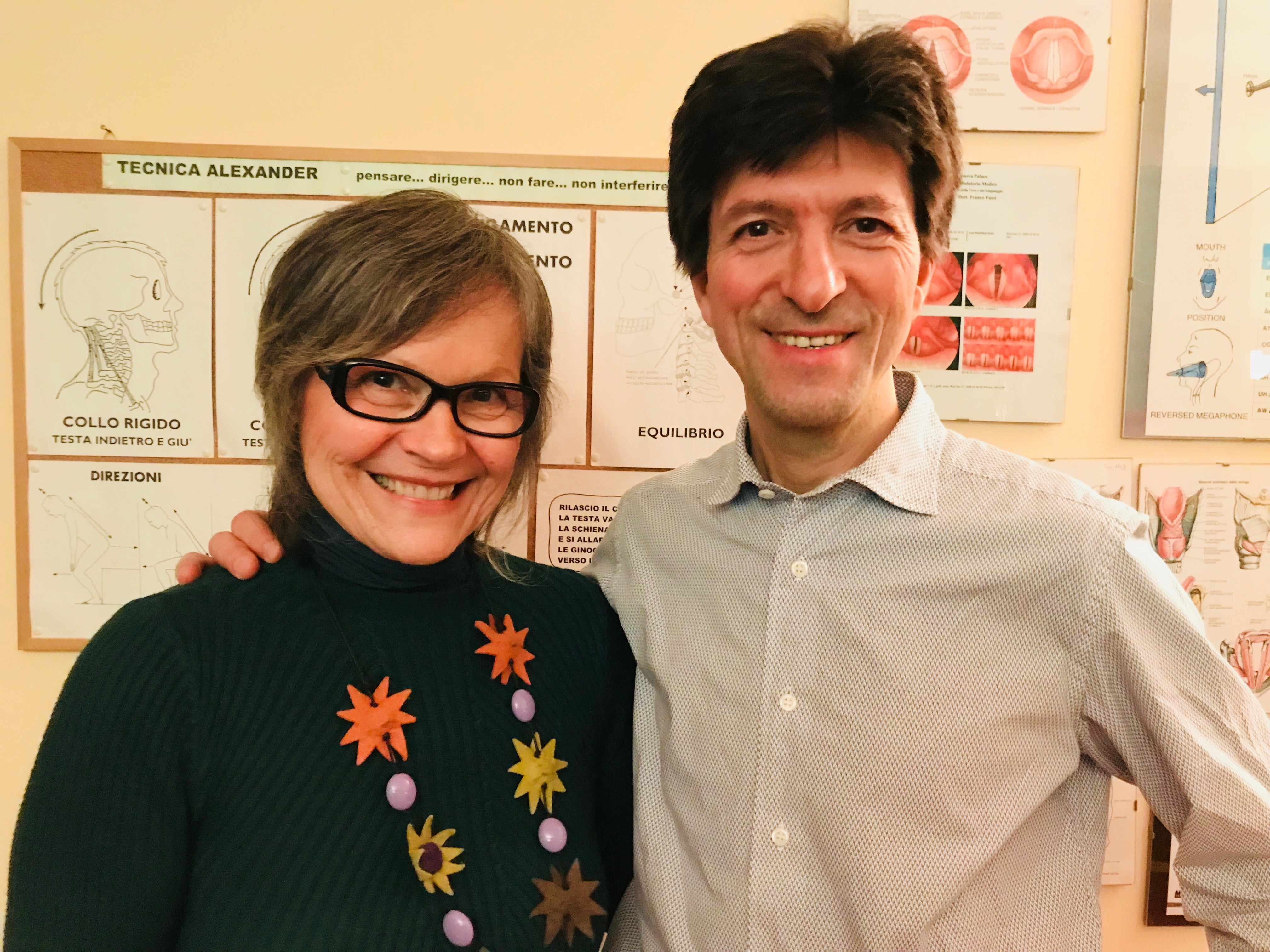 con Paolo Frigoli TA