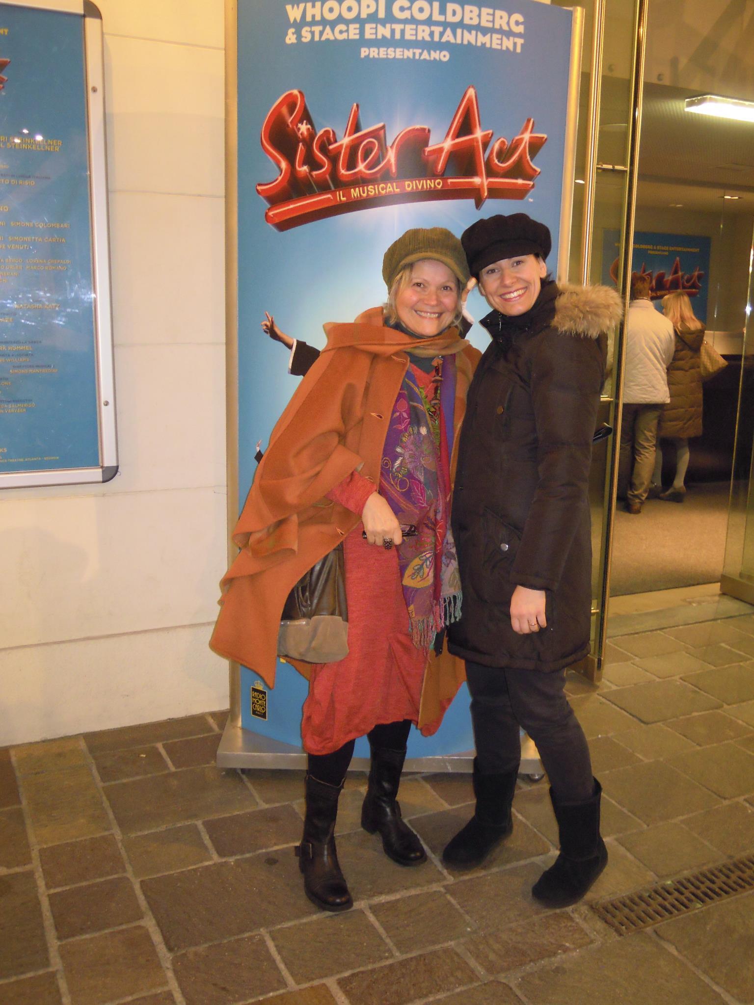 con Elisabetta Tulli