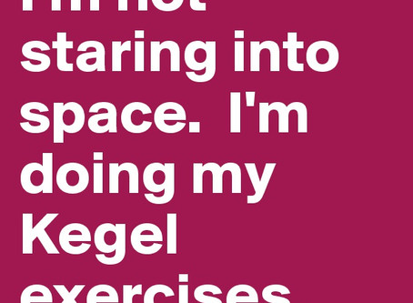 Kegels: what are they and should I do them? When I exercise am I working them without realising?