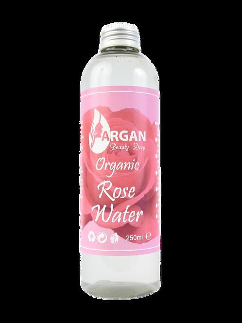 Pure Rose Water Facial Toner, große 250ml Flasche, handgemacht. Dreifach gereinigt