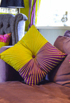 Colourful interior design in Cotswolds