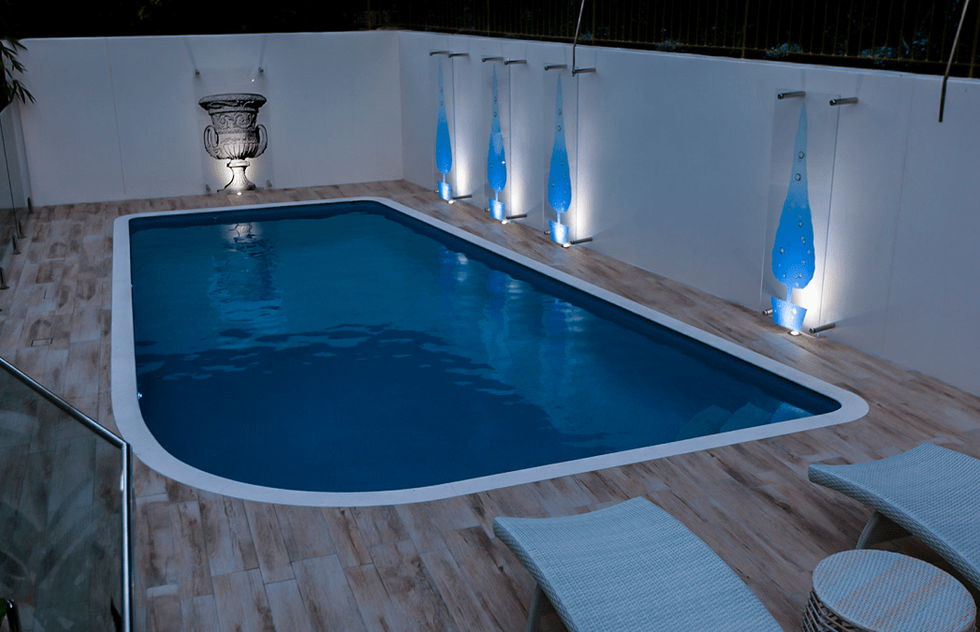 Pool lighting design