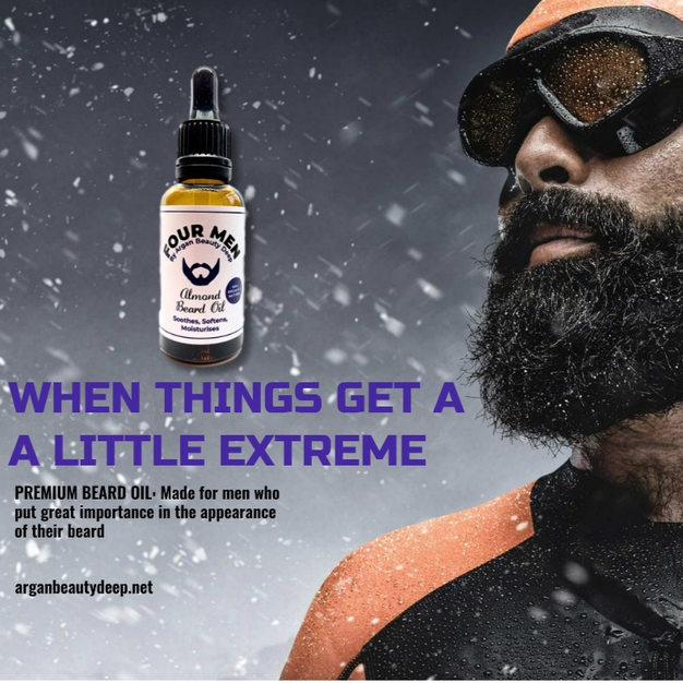 Almond Beard Oil for Men