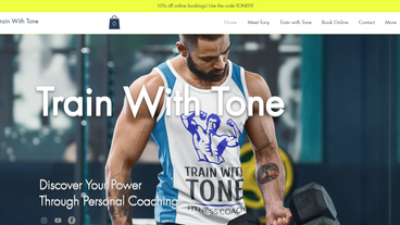Train With Tone website