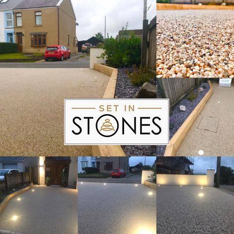 Set IN Stones collage