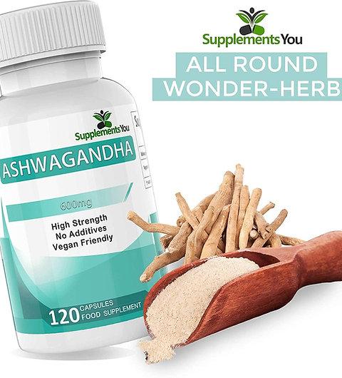 Organic ASHWAGANDHA - Helps maintain mental and physical youth