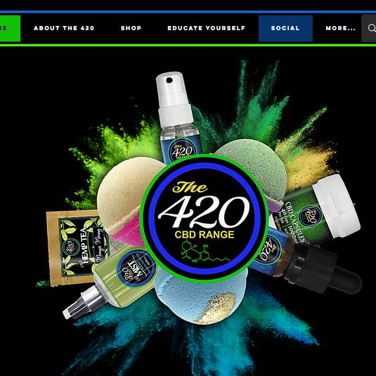The 420 CBD Range