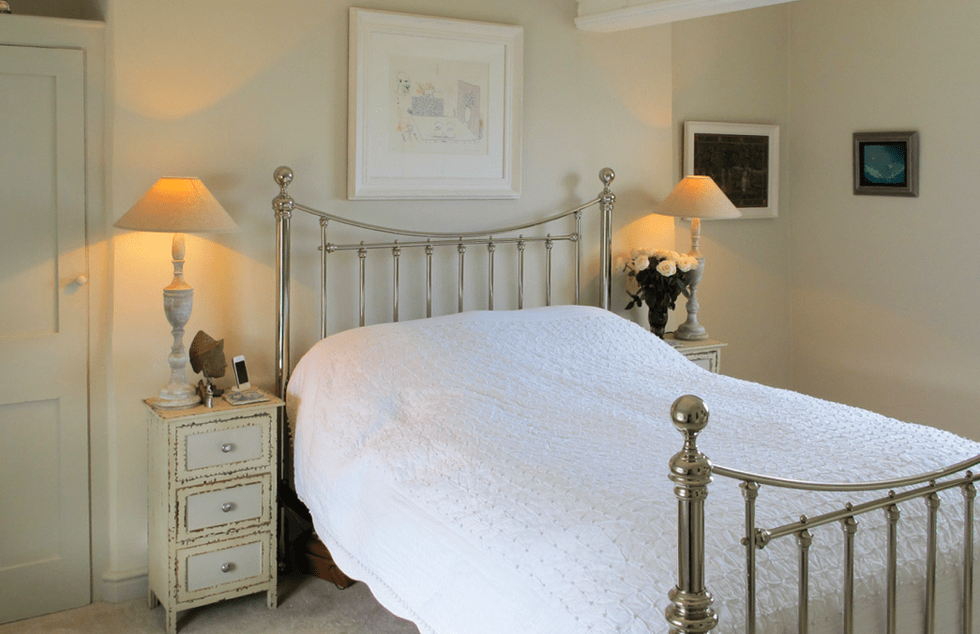 Claire Rendall Traditional bedroom design