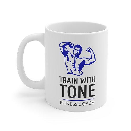 Mug 11oz Train with tone