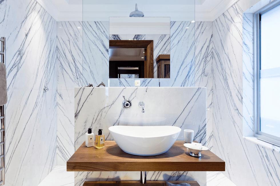 luxury contemporary bathroom