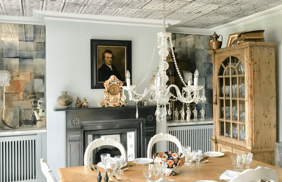 Interior designer Wiltshire dining room