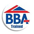 BBA TRAINED logo