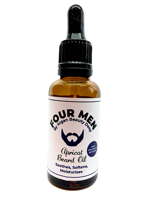 Apricot Beard Oil/Softens/Nourishes/Conditions your Skin & Hair