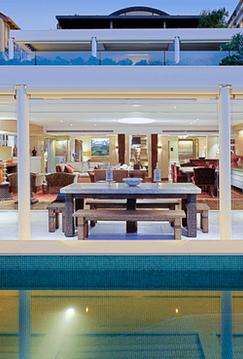 Luxury swimming pool design Wiltshire