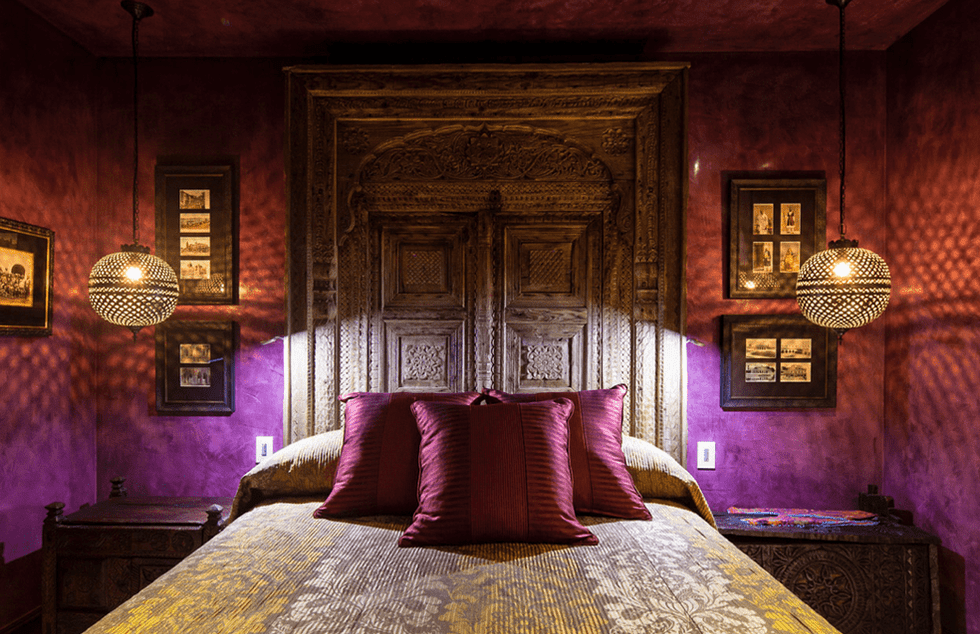 Bespoke interior designer bedroom