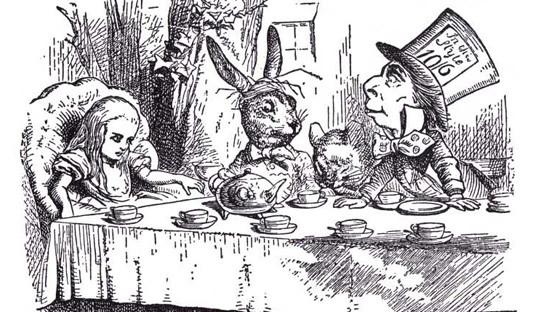 L'une des illustrations réalisée par John Tenniel.