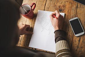 วาดภาพการ์ตูนสำหรับทำสมุดภาพระบายสี