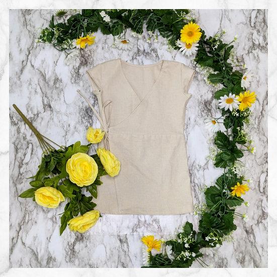 Anemone Wrap Dress