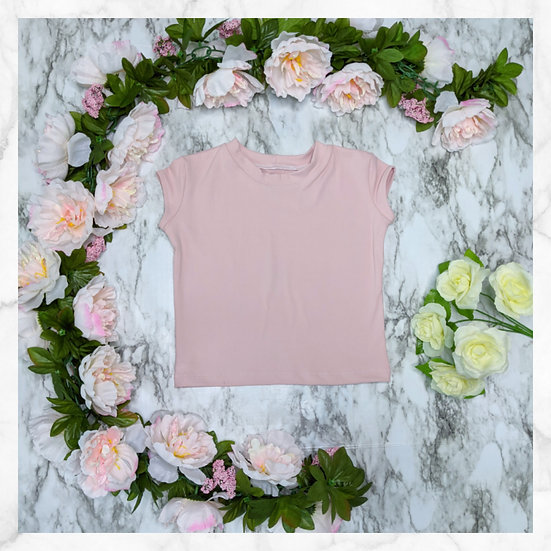 Capped Sleeve T-shirt