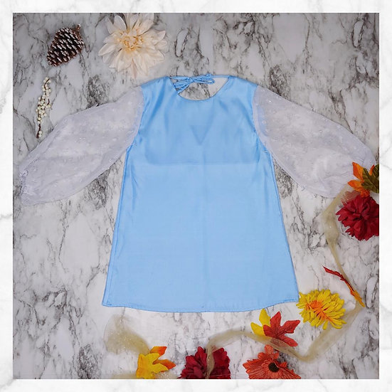 Primrose Tunic Dress - Blue