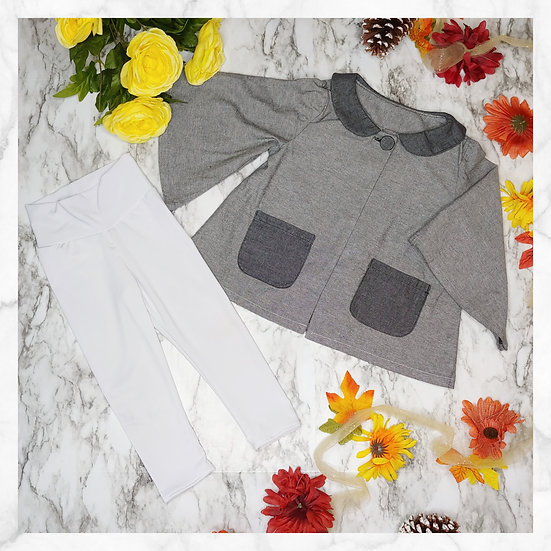 Aster Bouquet - Grey