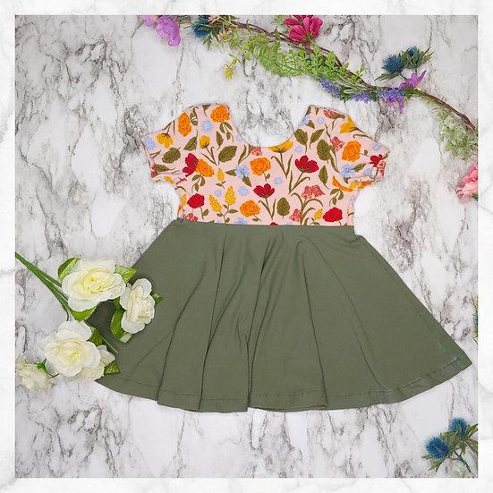 Marigold Cross-Back Dress