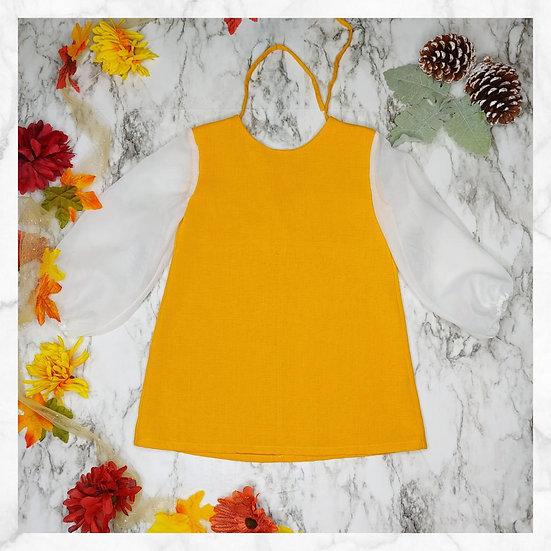 Primrose Tunic Dress - Yellow