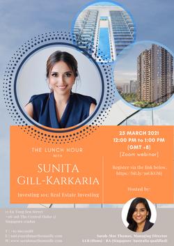 Sunita Gill - The Lunch Hour Digital Fly