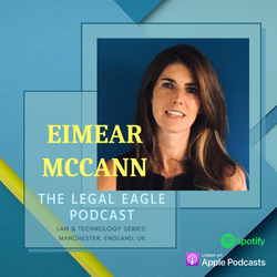 Eimear Canva Podcast Graphic