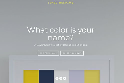 Website Shows What Synesthesia Looks Like