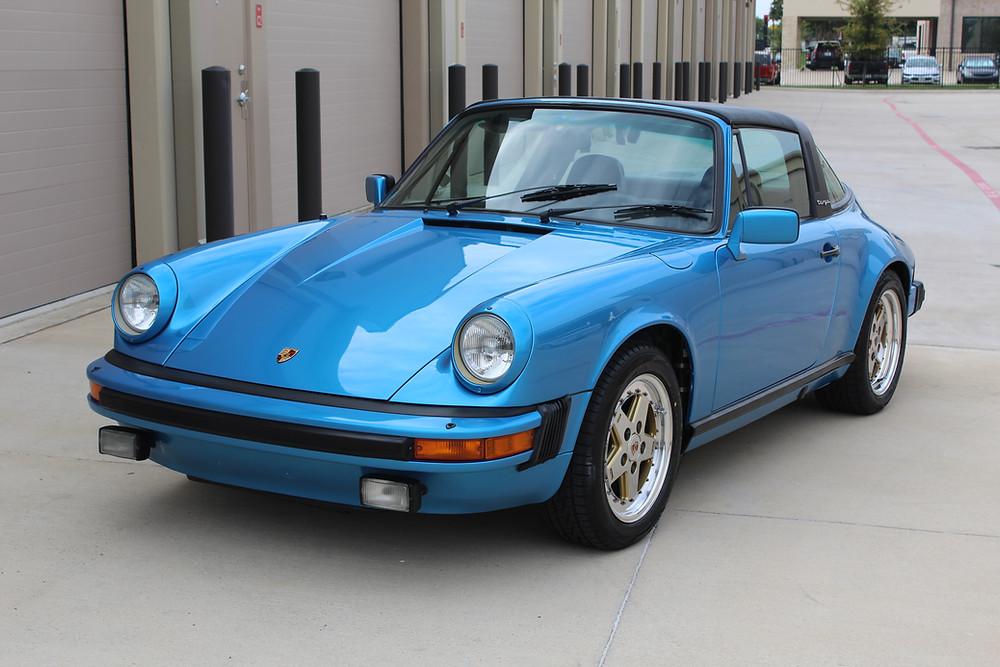 Concorso Detail, Gyeon Coating, Porsche 82 Targa