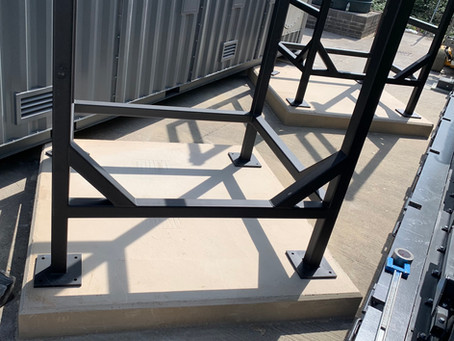 Waste to Energy - Structural plinths