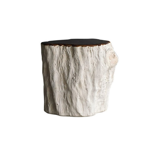 LYCHEE BURLE SIDE TABLE
