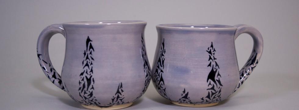 Lavender Cup Set
