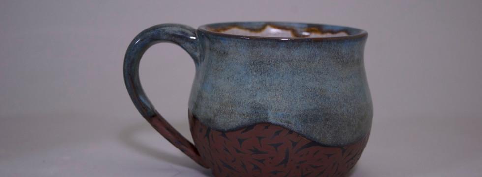 Blue/Brown Mug 1