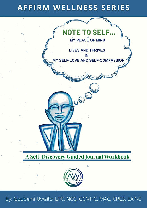 Pre-Order: My Peace of Mind Lives and Thrives in My Self-Love & Self-Compassion