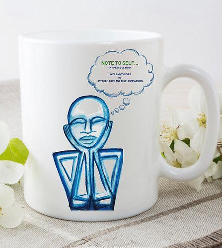 Pre-Order AW Peace  of Mind Mug
