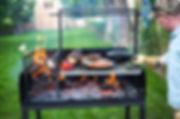 Argentine Parrilla BBQ wood-fired grill Brooklyn Northfork