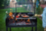 Argentine Parrilla Grills Brooklyn and Northfork NY Northforkironworks livefire grilling BBQ