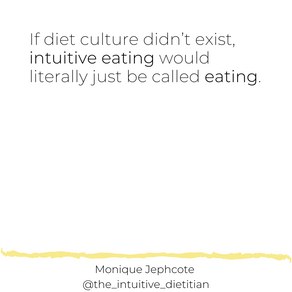If diet culture didn't exist...