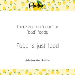 Food is just food