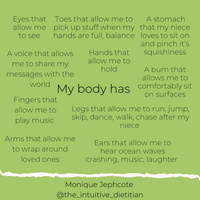 You are not alone in your body image struggles