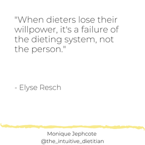 The system of dieting = failure