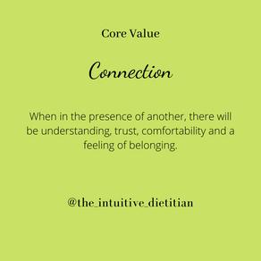 Core Value - Connection