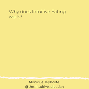 Why does Intuitive Eating work?